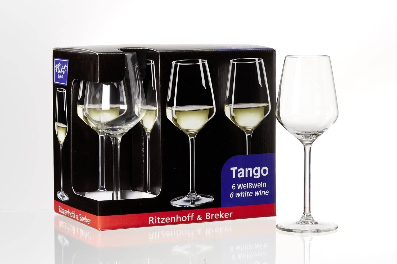 Schnökelloses Weißweinglas - lenkt nicht vom Weißwein ab