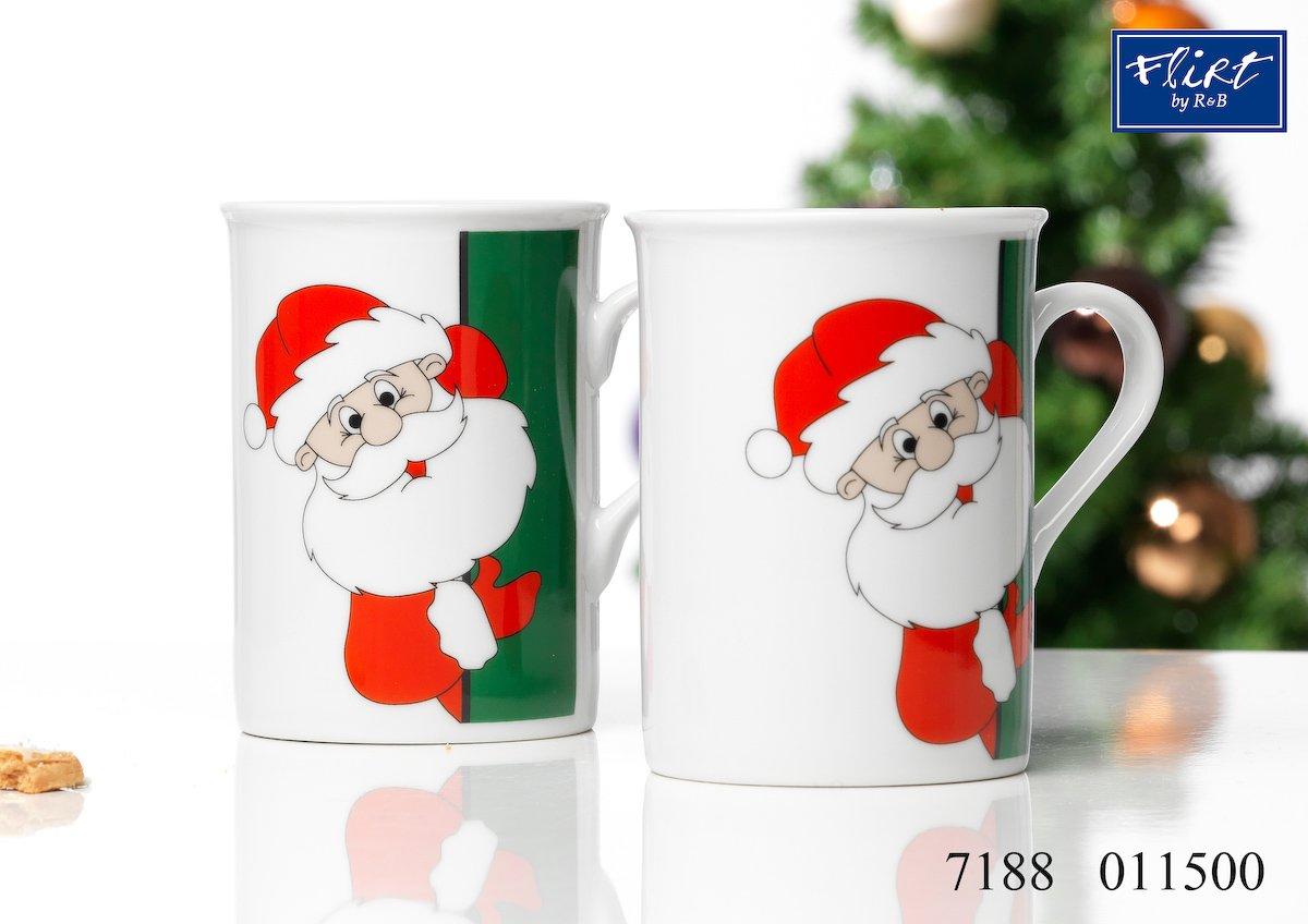 Weihnachtskaffeebecher für Frühstück und Büro