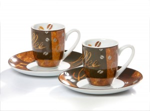 Espressotasse 2er Set 50cl Chile
