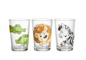 3er Kinderbecher 205ml Happy Zoo